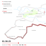 2016 Berlin Marathon Data Visualisation