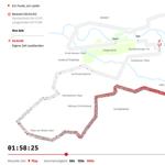2016 Berlin Marathon Data Visualisation